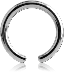 TITANIUM ALLOY BALL CLOSURE RING PIN