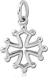 SURGICAL STEEL GRADE 316L CHARM
