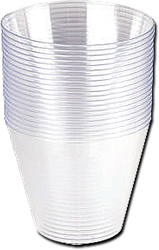MEDICINE CLEAR CUPS