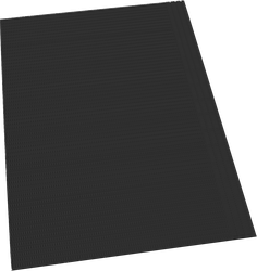 DYNAREX DENTAL BIBS BLACK - BOX OF 500