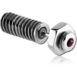 SURGICAL STEEL GRADE 316L NUT AND BOLT SCREW FAKE PLUG