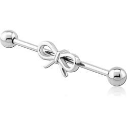SURGICAL STEEL GRADE 316L BOW INDUSTRIAL BARBELL