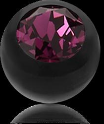 BIOFLEX® PUSH FIT JEWELED BALL