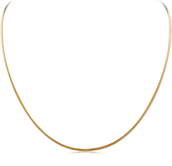 GOLD PLATED STERLING 925 SILVER CHAIN
