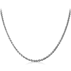 STAINLESS STEEL GRADE 304 BEVEL CUT CABLE CHAIN