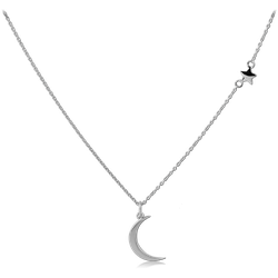 STERLING 925 SILVER PLATED NECKLACE WITH PENDANT