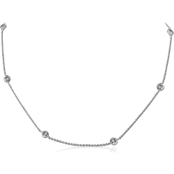 STERLING STERLING 925 SILVER 925 NECKLACE WITH PENDANT - BALL