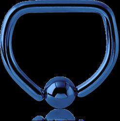 ANODISED TITANIUM ALLOY BALL CLOSURE D-RING