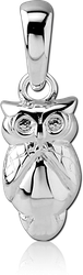 STERLING 925 SILVER PENDANT - OWL