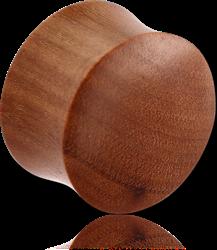 WOOD DOUBLE FLARED PLUG - ROSEWOOD-SAWO ORGANIC