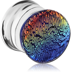 PYREX GLASS DICHROIC PLUG