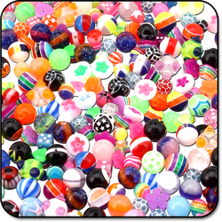 VALUE PACK OF MIX UV POLYMER BALLS FOR 1.6MM