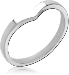 SURGICAL STEEL GRADE 316L RING