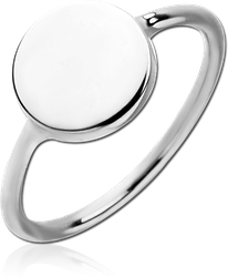 STERLING 925 SILVER RING - CIRCLE