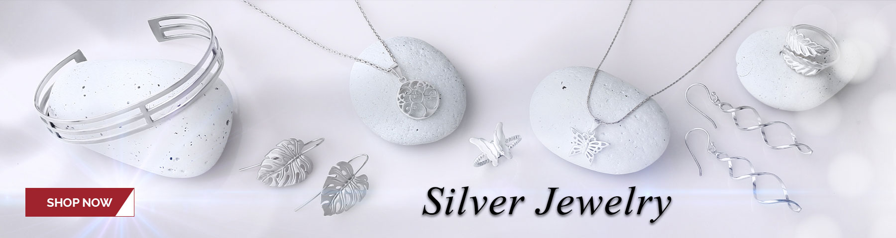 Silver Jewelry: Shop our range of silver jewelry